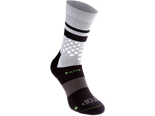 inov-8 F-Lite Crew Socks, gris/noir